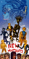 New Mutants by NightmareHound