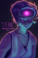 Drawlloween, Day 9 - EYEBALL by CelticBotan