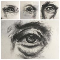 Charcoal Livestream by ZenJulia