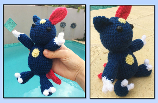 Sneasel pokemon crochet pattern by SkittleLittle