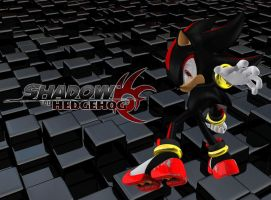Shadow the Hedgehog - Wallpaper[Gift] by Knuxy7789