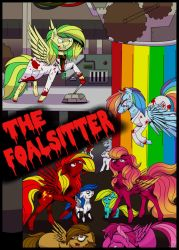 The Foalsitter Cover by Blumydia