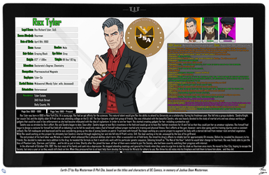 [Earth-27: Oracle Files] Rex Tyler (1/2) by Roysovitch