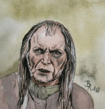Argus Filch by LoonaLucy