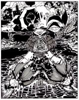 Creature from the Black lagoon by luisalonso