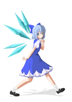 Cirno by winterwolf38