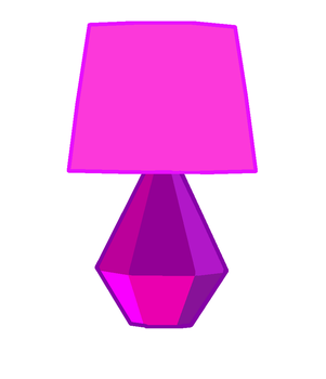 Crystal Lamp by jerotam