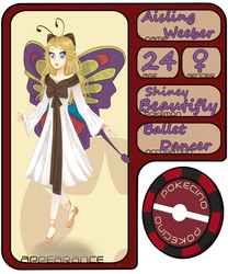 Pokecino App: Aisling Weeber by Foxuuu