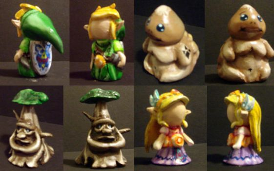 Zelda Chess Set - Characters 1 by Tomo-Chi