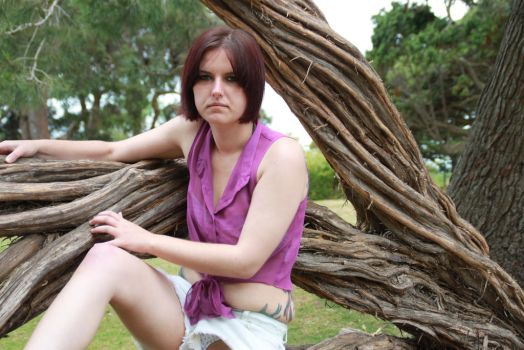 Tree Hugger III by CandyPoutModelling