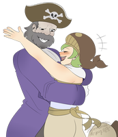 captain tequila and mescal commission by Lost-Pyromaniac