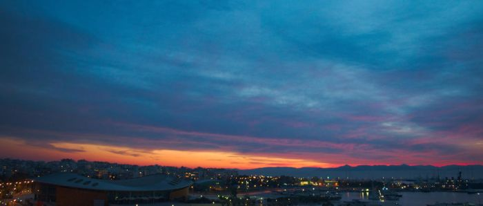 Panoramic sunset by FootAches