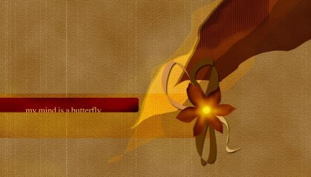 My Mind Is A Butterfly by expressoneself