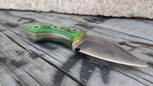 Tactical Minnow Neck knife. by RavenStagDesign