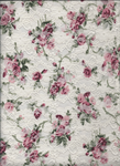 Texture lace with printed roses :STOCK: by NathL-fr
