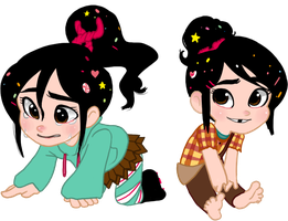 Vanellope!!!!!!!!! by BBAn