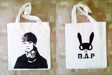 B.A.P Zelo Tote Bag by huyendao