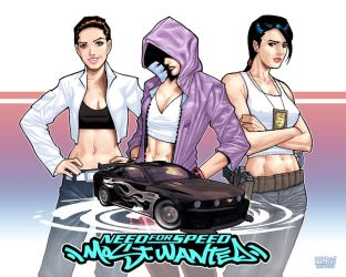 Girls of NFS Most Wanted by pipin