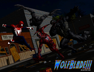 War on Carnage by WOLFBLADE111