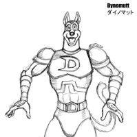 Anthro Dynomutt Pose 02 by MDTartist83
