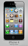 Apple iPhone 4 PSD by Livven