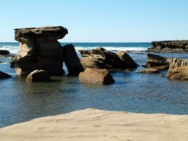 Rock and Water 06 by lobe-stock