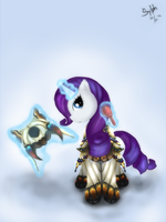 :Monster Hunter Pony: Rarity by sylphan