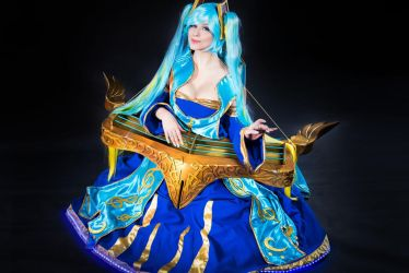 Sona Cosplay - League of Legends by Thaby-95