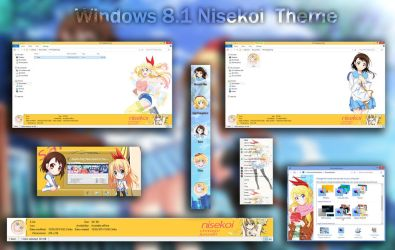Visual Styles 8~Theme Anime Win 8/8.1 Nisekoi by hoangtush
