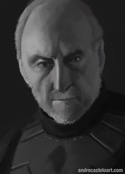 Tywin Lannister study by andrecastelo