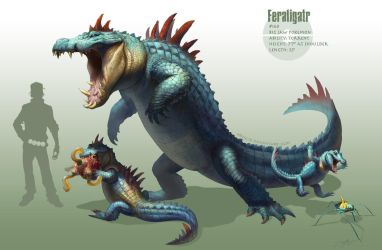 -Feraligatr- by arvalis
