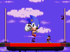 I found Sonic.exe in my Sonic 3 by Ghostbustersmaniac