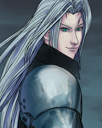 Sephiroth: FFVII 20th Anniversary by RoxyRoo