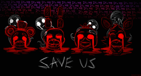 Five Nights at Freddy's by Lolalilacs