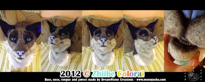 Audi Fursuit Head by Zhiibe