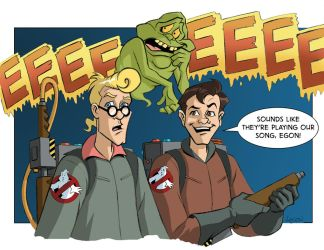 Ghostbusters Final Color by LostonWallace