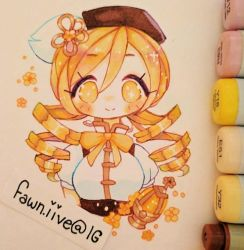 Mami [Copic Art] by fawnbun