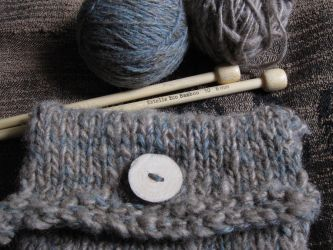 Knitted Pouch by Lykaios