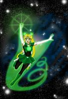 Emerald Moon, I can Fly! by Maelstromknight