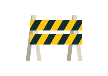 Flat Barrier by superawesomevectors