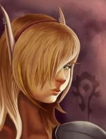 Blood Elf by EmiMatsuo-chan