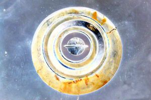 Hubcap in Space by happymouse666