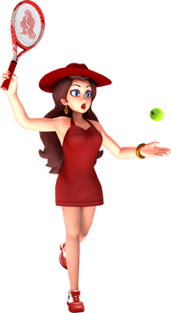 Pauline - Mario Tennis Aces by Fawfulthegreat64