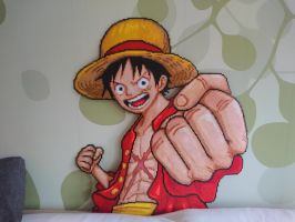 Luffy - Complete! by MagicPearls