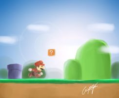Mario Rush by kryzz10