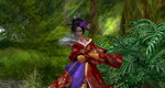 Geisha in the forest by DameKlaudia