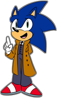 Sonic/Doctor Who - The Doctor (Reference) by Toxikku