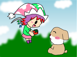 gift: A strawberry for cooper by Rotommowtom