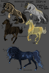 Closed//December Horse Adoptables! by HevonenStudios