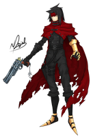 Vincent Valentine by ReverseCrown